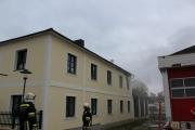 Wohnhausbrand in Hürm
