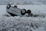 Verkehrsunfall mit Überschlag