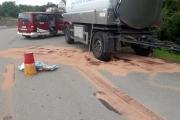 Ölaustritt LKW-Anhänger