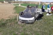 Schwerer Verkehrsunfall auf der B29