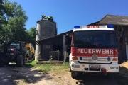 Brandverdacht Getreidesilo