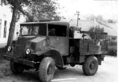 """UNRA"" Dogde Canada Ford am 06. August 1949 angekauft"