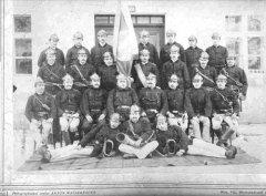Gruppenfoto der FF Kilb im Jahr 1891