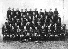 Gruppenfoto der FF Kilb im Jahr 1936