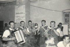 Musik bei den Kilber Feuerwehrtage in den sechziger Jahren