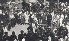 Segnung einer Tragkraftspritze 1936